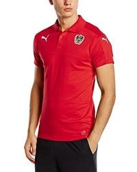 rotes Polohemd von Puma