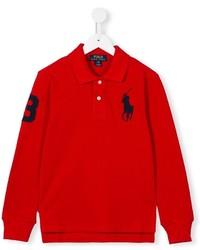 rotes Polohemd von Ralph Lauren