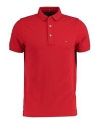 rotes Polohemd von Tommy Hilfiger