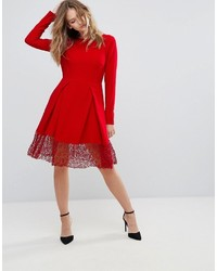rotes Skaterkleid von Traffic People