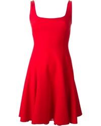 rotes Skaterkleid von Ralph Lauren