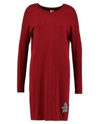 rotes Sweatkleid von s.Oliver