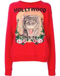 rotes Sweatshirt von Gucci