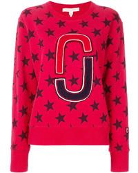 rotes Sweatshirt von Marc Jacobs