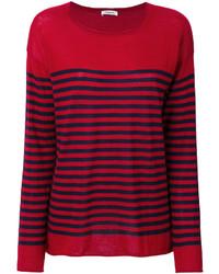 rotes Sweatshirt von P.A.R.O.S.H.
