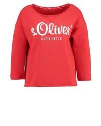 rotes Sweatshirt von s.Oliver