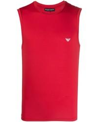 rotes Trägershirt von Emporio Armani