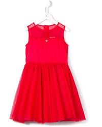 rotes Tüllkleid von Armani Junior