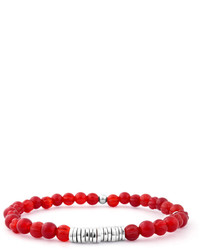 rotes Perlen Armband