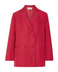 rotes Zweireiher-Sakko von Valentino