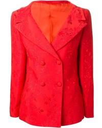 rotes Zweireiher-Sakko von Versace