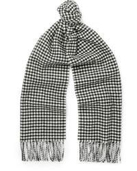 Schal mit Vichy-Muster
