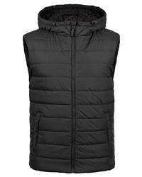 schwarze ärmellose Jacke von BLEND
