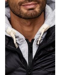 schwarze ärmellose Jacke von Cipo & Baxx