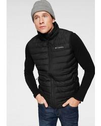 schwarze ärmellose Jacke von Columbia