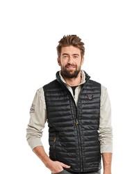 schwarze ärmellose Jacke von ENGBERS
