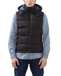 schwarze ärmellose Jacke von Esprit