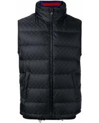 schwarze ärmellose Jacke von Gucci