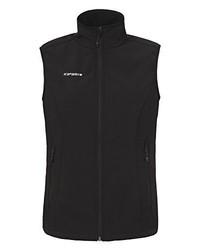 schwarze ärmellose Jacke von Icepeak