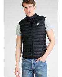 schwarze ärmellose Jacke von JOTT