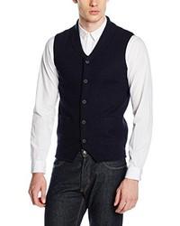 schwarze ärmellose Jacke von Karl Lagerfeld