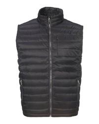 schwarze ärmellose Jacke von Killtec