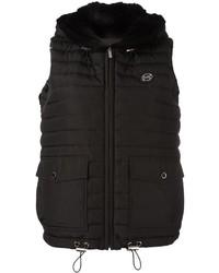 schwarze ärmellose Jacke von MICHAEL Michael Kors