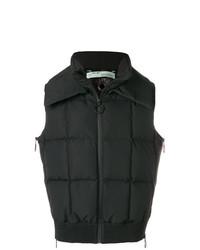 schwarze ärmellose Jacke von Off-White