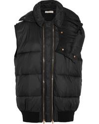schwarze ärmellose Jacke von Stella McCartney
