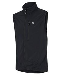 schwarze ärmellose Jacke von Ziener