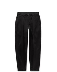 schwarze Anzughose aus Seide von Monitaly