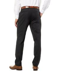 schwarze Anzughose mit Schottenmuster von JP1880