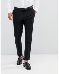 schwarze Anzughose von Burton Menswear