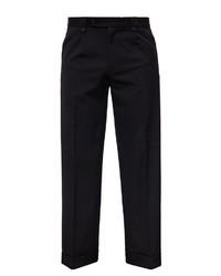 schwarze Anzughose von KINGKEROSIN