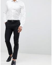 schwarze Anzughose von New Look