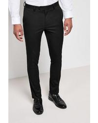 schwarze Anzughose von next