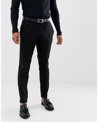 schwarze Anzughose von Pier One