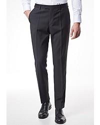 schwarze Anzughose von Pierre Cardin