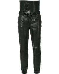 schwarze Anzughose von Saint Laurent