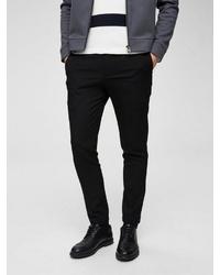 schwarze Anzughose von Selected Homme