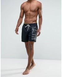 schwarze Badeshorts von Calvin Klein