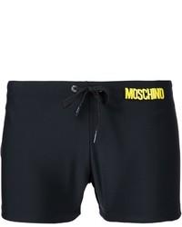 schwarze Badeshorts von Moschino