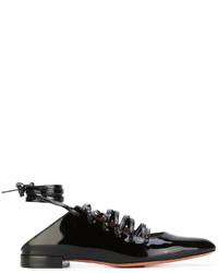 schwarze Ballerinas von Givenchy