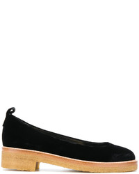 schwarze Ballerinas von Lanvin
