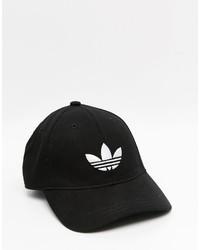 schwarze Baseballkappe von adidas
