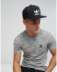 schwarze Baseballkappe von adidas Originals