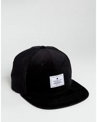 schwarze Baseballkappe von Asos