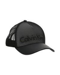 schwarze Baseballkappe von Calvin Klein