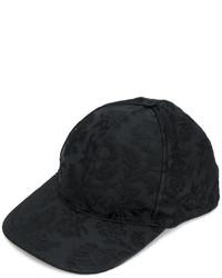 schwarze Baseballkappe von Dolce & Gabbana