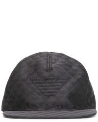 schwarze Baseballkappe von Emporio Armani
